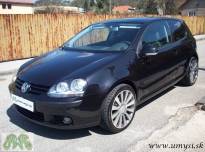 Volkswagen Golf 5 - Purple haze wax